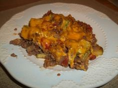 Ground Beef Mexican Casserole | ground beef mexican squash casserole