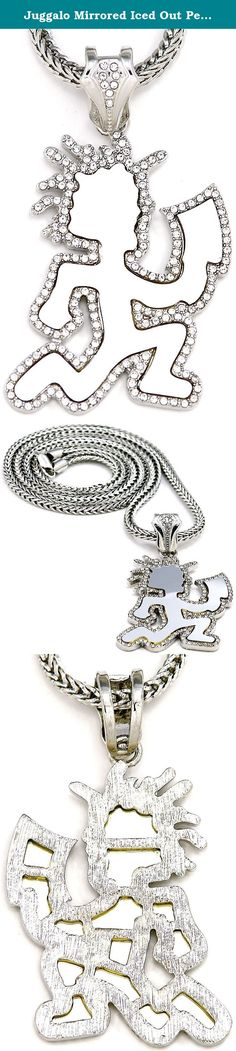 Gallery For  gt  Insane Clown Posse Logo Wallpaper   Insane Clown     Pinterest Juggalo Mirrored Iced Out Pendant    Inch Necklace Silver Color Franco Style Chain  Juggalo Iced