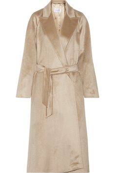 Beige alpaca Slips on 100% alpaca; lining: 100% viscose Dry clean Imported As seen in The EDIT magazine