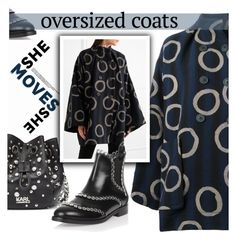 """Oversized coats"" by samketina ❤ liked on Polyvore featuring Vivienne Westwood Anglomania, Alaïa, Karl Lagerfeld and oversizedcoats"