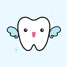 maqaroon: Just did an unsolicited logo for my bf after doing some (legit) design work for his colleagues. I would totally go to any dentist. Happy Dental, Dental Kids, Dental Art, Dentist Logo, Dentist Humor, My Dentist, Digital Paper Freebie, Dental World, Dental Posters