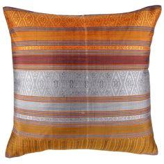 John Robshaw Textiles - Lao Sabai Silk 586 - Souk Pillows - souk
