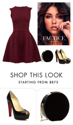 """""""Untitled #2557"""" by carlene-lindsay ❤ liked on Polyvore featuring Christian Louboutin, Elie Saab and Ted Baker"""