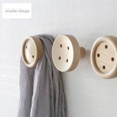 Home & Garden 1pcs Brief Modern Novelty Creative Water Drop Shape Wood Wall Hanger Bathroom Door Coat Hat Single Wall Hook Holder Home Decor To Have A Long Historical Standing