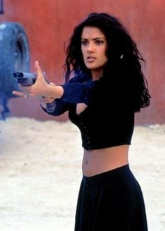 Genuinely great films with excellent outfits, what's not to love? Salma Hayek Style, Salma Hayek Body, Baddie, Salma Hayek Pictures, Afro Punk Fashion, Selma Hayek, 2000s Fashion, Bikinis, Curly Hair Styles