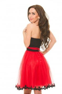 Fekete LaDonna Lovely Sequin Ruha