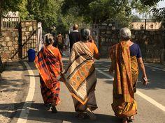 Sari dei magnifici colori dell'India
