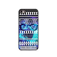 Personalized+Phone+Case+-+Glasses+Frame+Design+Metal+Case+for+iPhone+5/5S+–+USD+$+5.99