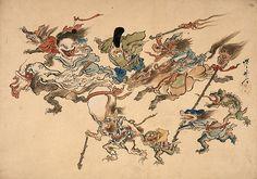 Monsters 2 - Kawanabe Kyōsai