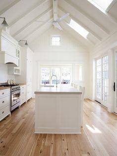 Vaulted Kitchen # home, Interior Design, House, Kitchen
