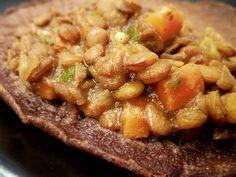 Ethiopian Lentils with Berebere Spice Ethiopian Injera, Ethiopian Lentils, Ethiopian Cuisine, Soup Recipes, Whole Food Recipes, Vegetarian Recipes, Cooking Recipes, Healthy Recipes, Healthy Meals