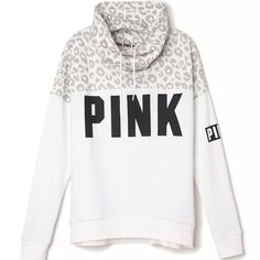 Victoria's Secret PINK Cowl Neck Sweatshirt Worn once washed & layers flat to dry. In EXCELLENT like new condition. PINK Victoria's Secret Tops Sweatshirts & Hoodies