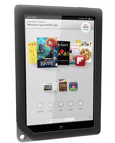 """Barnes & Noble NOOK HD+ 32gb Touchscreen 9"""" WiFi Tablet PC eBook Reader w/ Google Play & Chrome Browser - Android OS, Full HD, 1.5GHz Proccessor, Expandable Memory BNTV600-GRY (Certified Refurbished)"""