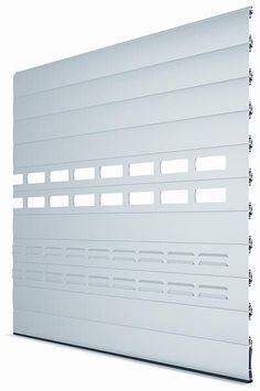 Roll-up garage doors / aluminum / automatic LP79EC / ECT / ECV PORTES BISBAL…