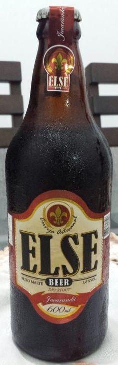 Cerveja Else Jacarandá, estilo Dry Stout, produzida por Cervejaria Else, Brasil. 6.6% ABV de álcool.