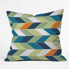 Gabi Forward Throw Pillow   DENY Designs Home Accessories