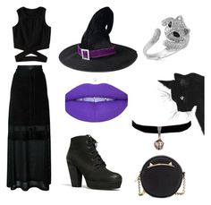 """Witch"" by charliburgess ❤ liked on Polyvore featuring Antonio Marras, Steve Madden, Effy Jewelry and Betsey Johnson"