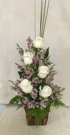 101 Cute Spring Flower Arrangements Ideas That You Need To Know - Flowers are used for all types of occasions and celebrations. They can offer you beauty and elegance to any room you choose. You can bring in fresh sp. Valentine Flower Arrangements, Creative Flower Arrangements, Spring Flower Arrangements, Funeral Flower Arrangements, Rose Arrangements, Beautiful Flower Arrangements, Flower Centerpieces, Spring Flowers, Flower Decorations