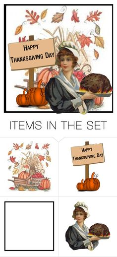 """""""Happy Thanksgiving Polyvore friends"""" by jessicarabbit59 ❤ liked on Polyvore featuring art"""