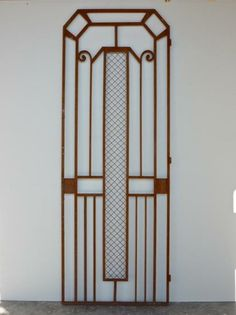 1000 images about art deco grill on pinterest art deco modern gates and m - Grille fer forge castorama ...