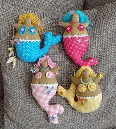 Mimin Dolls: Tilda mermaid pt 1 of 2