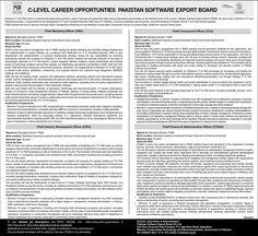 Pakistan Software Export Board Islamabad Jobs 2021 Online Apply