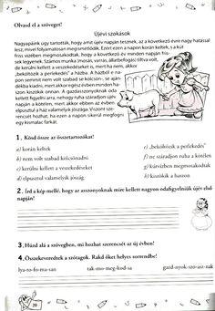 Album Archive - szövegértés o Thing 1, Grammar, Worksheets, Album, Teaching, Education, Minden, Archive, Study
