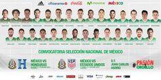 CON TRES CHIVAS LISTA DEL TRI PARA ELIMINATORIA La Selección Mexicana da a conocer su llamado a través de un comunicado. Jugarán ante Honduras y EU el 8 y 11 de junio en la Ciudad de México.