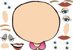 DIRIGIENDO MANITAS: Creació de Cares, parts de la cara