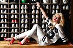 Helen Flanagan – Dog Bowl Bowling Alley Photoshoot – March 2013 -14