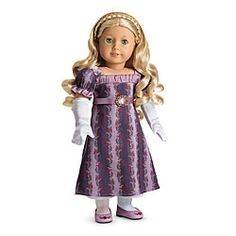 American Girl® Dolls: Caroline's Holiday Gown - I wish I had this as a little girl!