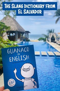 "Have you heard of ""Guanaco to English""? It is a dictionary of ""guanaco"" (Salvadoran slang) into English that can be purchased in various parts of the country. Spanish School El Zonte has been using this dictionary for a few months to enrich our Spanish classes with an element of Salvadoran slang and culture. #elsalvador #slang guanaco Spanish Class, Spanish Lessons, Learning Spanish, Spanish Language, Learning Resources, Plan Your Trip, Central America, Getting To Know, Cool Places To Visit"