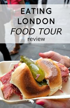 My Eating Europe food tour in the London East End was filled with great food and fun London facts.