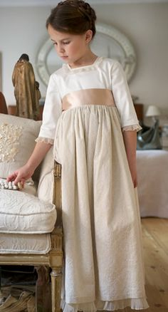 Such a lovely first communion dress.