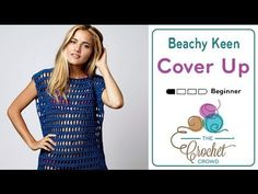 For beginners and beyond, learn to crochet this cute Beach Cover Up using a free…