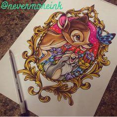 Bambi tattoo