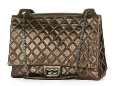 Chanel Extra-Large Bronze Re-Issue
