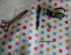 coudre du tissu enduit (voir fiche technique : dossier atelier > tuto technique)