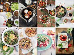 Seasonal summer recipes {flowers on my plate}