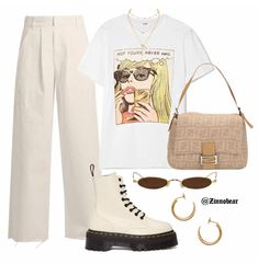 how to style outfits Retro Outfits, Cute Casual Outfits, Stylish Outfits, Summer Outfits, Vintage Outfits, Girl Outfits, Fashion Outfits, Look Fashion, Korean Fashion