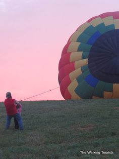 Up, Up,&  Away w/National Balloon Classic in Indianola, Iowa
