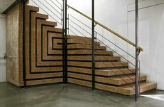 Olivetti Showroom, Venice - stairs, folding effect