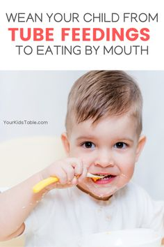 Does your child have an ng-tube or g-tube so that they can get the calories and nutrients they need? Kids that have a feeding tube can learn to eat and ... #tubefeeding #ngtube #nutrition Child Development Activities, Development Milestones, Infant Activities, Feeding Tube, Sensory Diet, Healthy Meals For Kids, Parenting Hacks, Your Child, Food Ideas