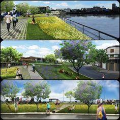 La Boca: la renovación verde del Paseo de La Ribera costará más de 30 millones