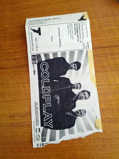 #Coldplay