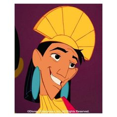 Photos of Emperor Kuzco ❤ liked on Polyvore featuring disney
