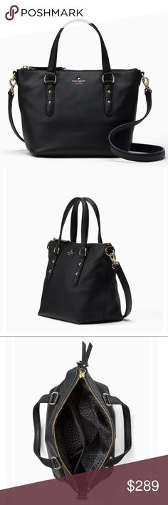 59c40d5f7176 💐Kate Spade Larchmont Ave Small Leather Satchel We love how classic and  feminine a satchel