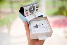 A Clever Polaroid Camera Promo Mailer Made with Card Stock IMG 3933