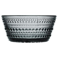 home accessories glass Iittala Kastehelmi Bowl In Grey Design Bestseller, String Of Pearls, Design Blog, Dessert Bowls, Pressed Glass, Home Accessories, Dinnerware, Serving Bowls, Decorative Bowls