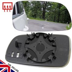 This wing mirror glass fits VW Golf MK4 1996-04 models.